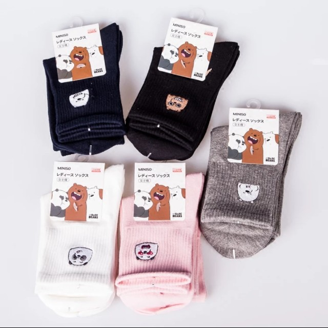 日單 熊熊遇見你 襪子