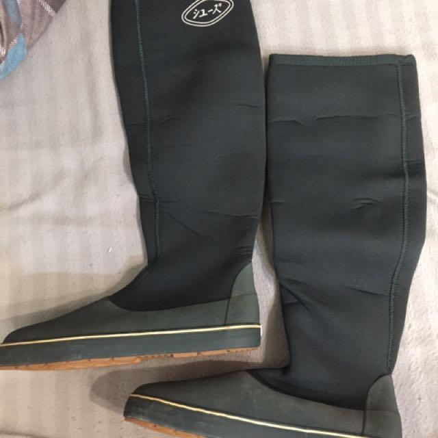 涉水鞋 釣魚 防滑鞋 鞋套