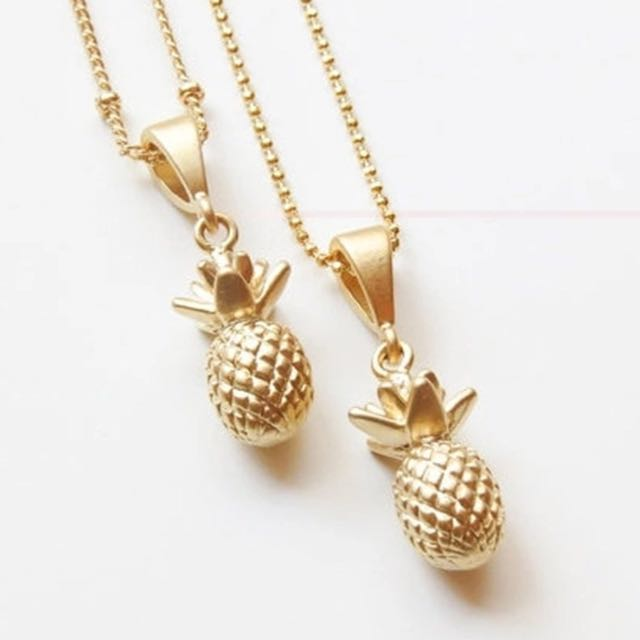 🍍 PINEAPPLE NECKLACE