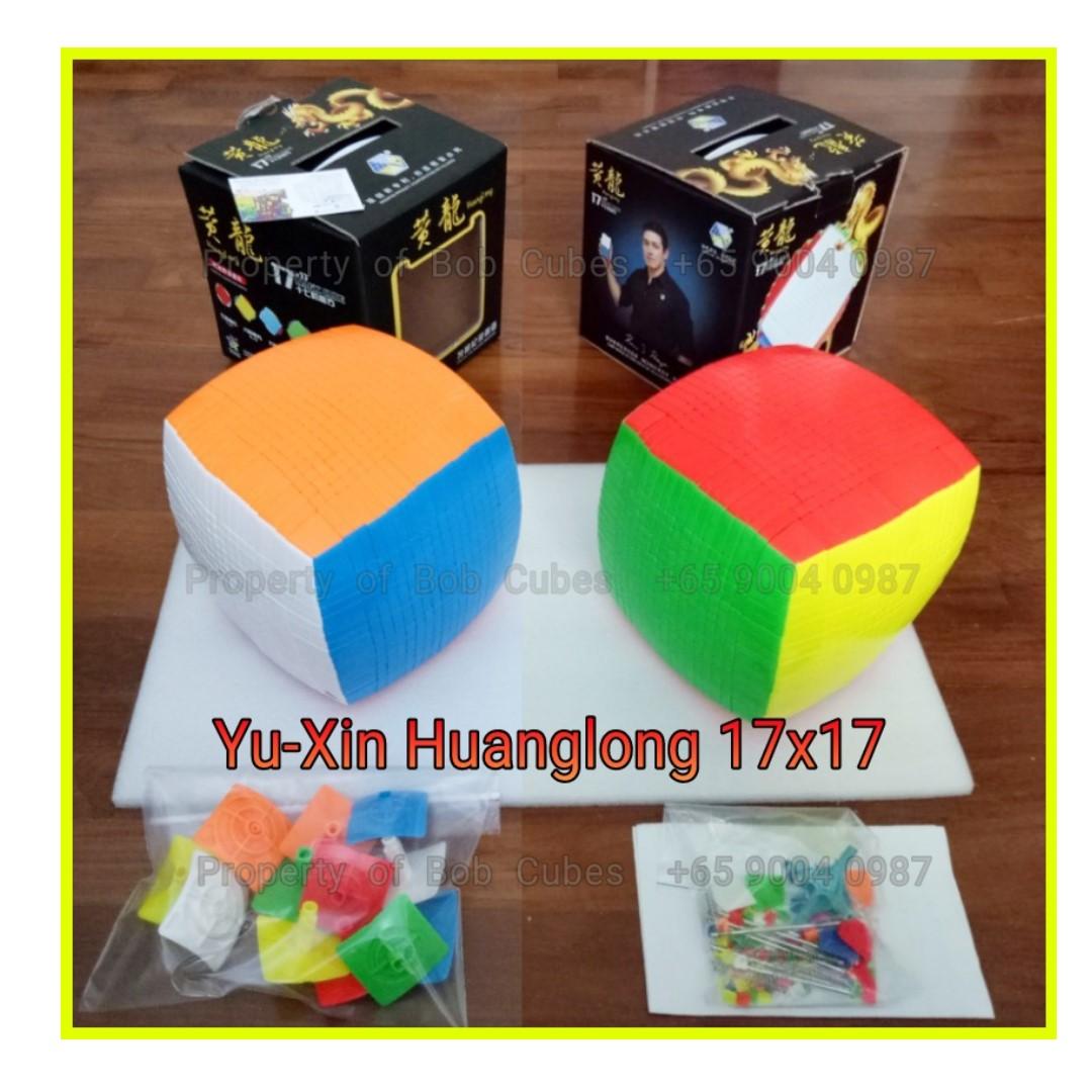 - Yu-Xin Huanglong 17x17 Cube for sale ( Yuxin 17x17 ) -  Brand New !
