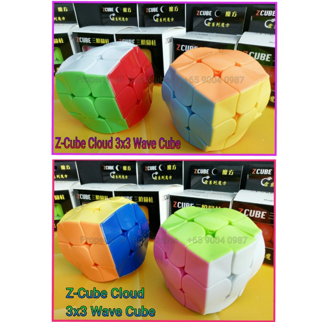 - Z-Cube Cloud 3x3 Wave Z Cube for sale -  Brand New !