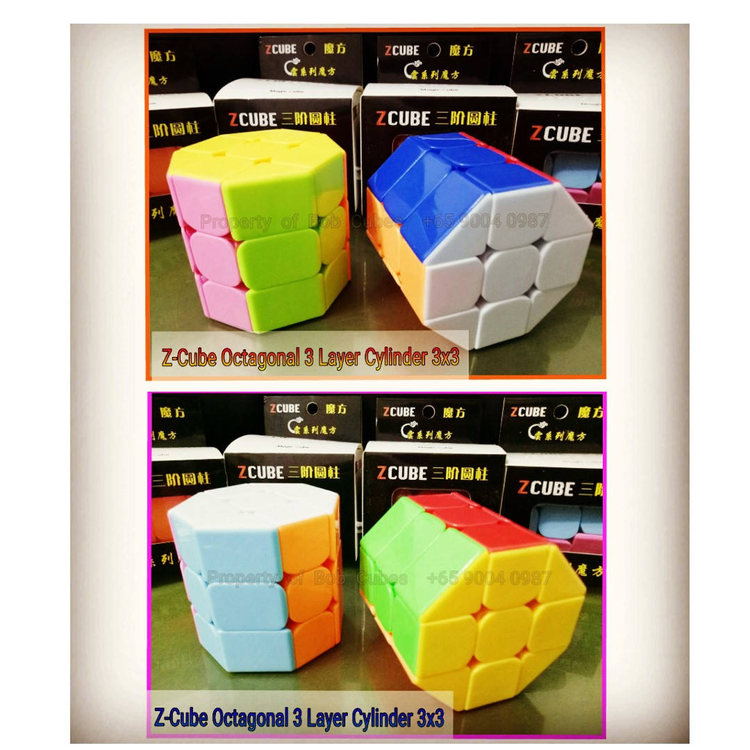 - Z-Cube Octagonal 3 Layer Cylinder Z Cube 3x3 for sale -  Brand New !