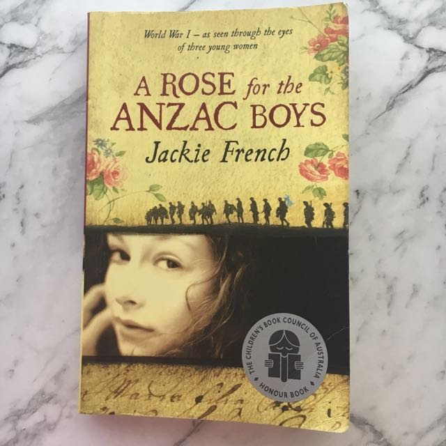A Rose for the Anzac Boys - Jackie French Novel
