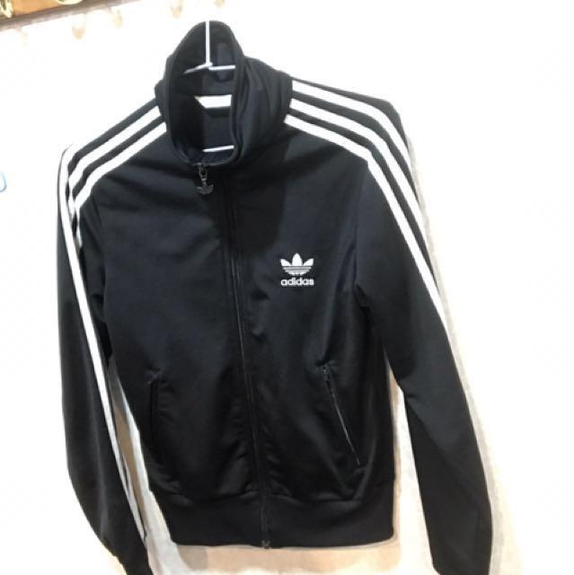 ADIDAS ORIGINAL 黑色外套尺寸34