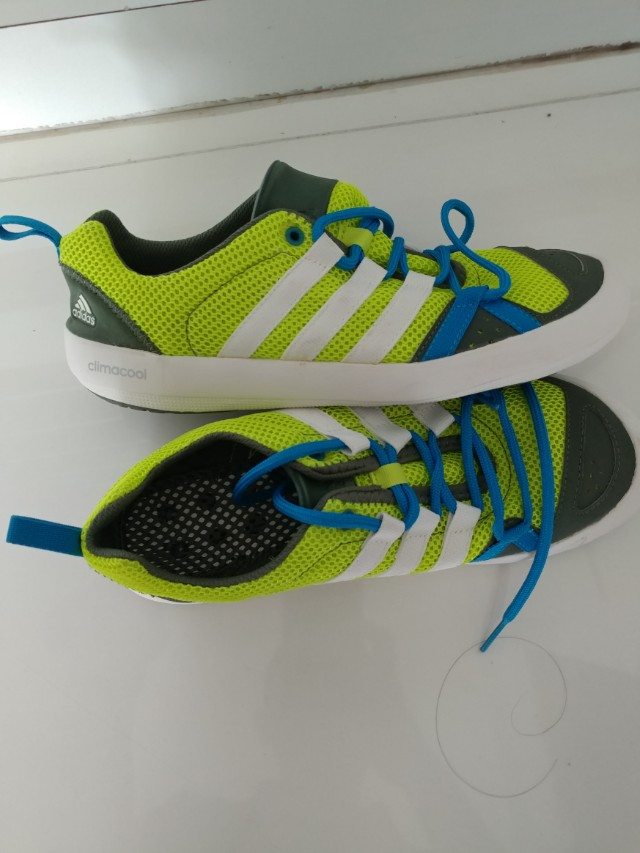 san francisco bf423 8c53b adidas outdoor Men's Climacool Boat Lace Water Shoe