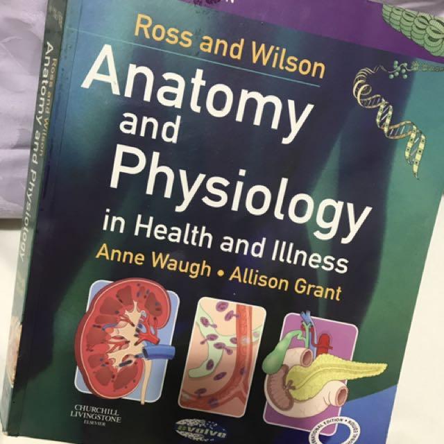 Anatomy n physiology Ross n Wilson 10th ed, Books & Stationery ...