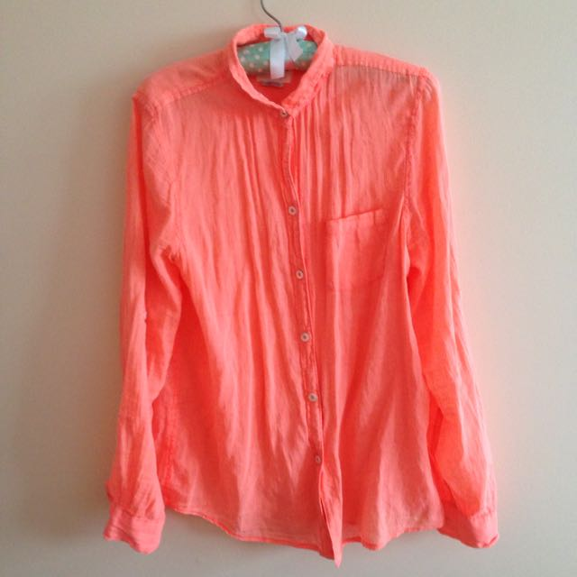 Anthropologie Button-Up Shirt