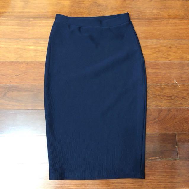 (AU 6) Atmos&here navy skirt