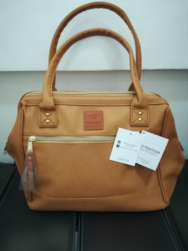 Authentic Anello Leather Shoulder Bag