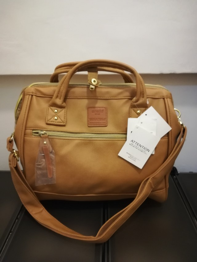 Authentic Anello Leather Two Way Bag