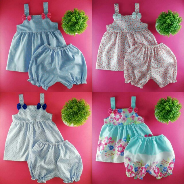 Baby Terno (Bloomer Set)