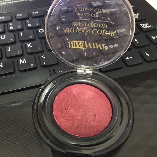 Baked Blush On