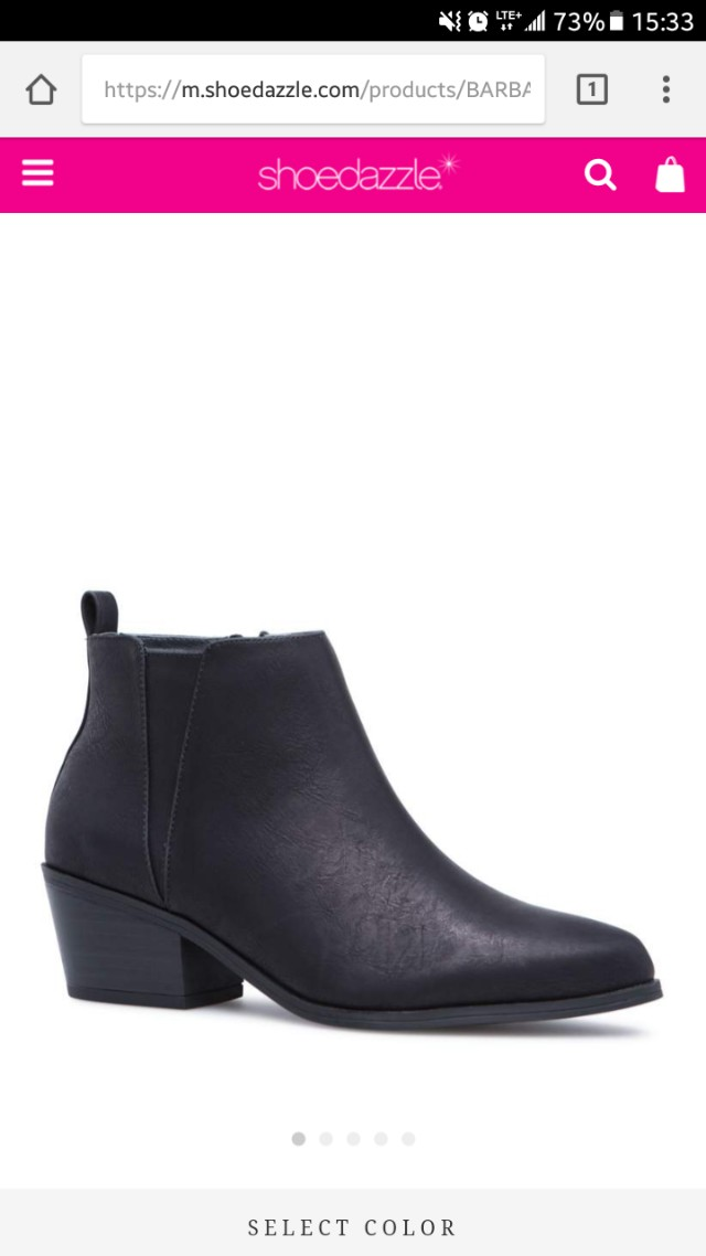 Barbara heel boot shoedazzle