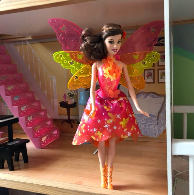 Barbie with wings