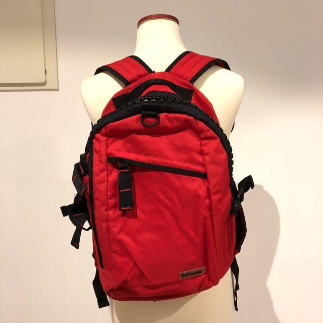Big zip backpack