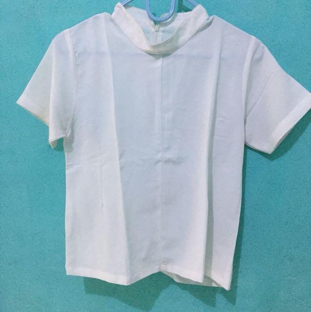 Blouse -White top