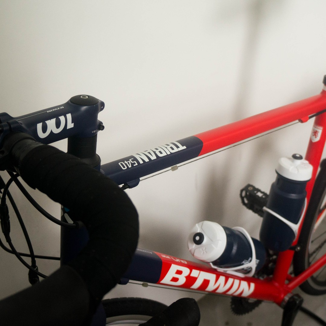 BTWIN ROAD BIKE TRIBAN 540, Bicycles & PMDs, Bicycles on