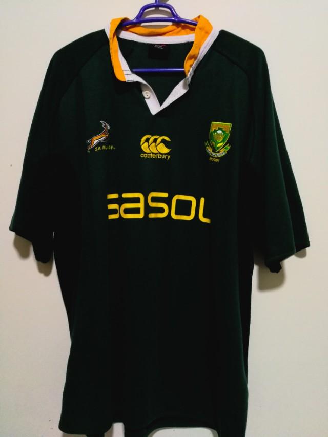 6e50e0d23e3 Canterbury South Africa Rugby Team XXL, Men's Fashion, Clothes on ...