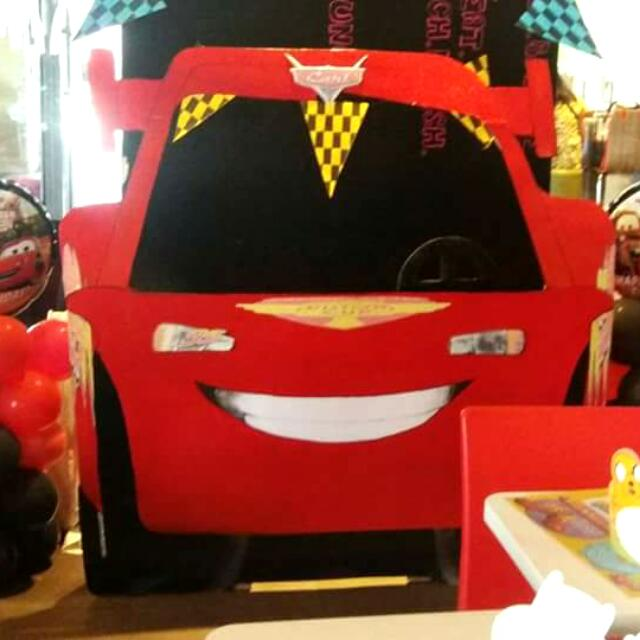 Cars Mcqueen photobooth!