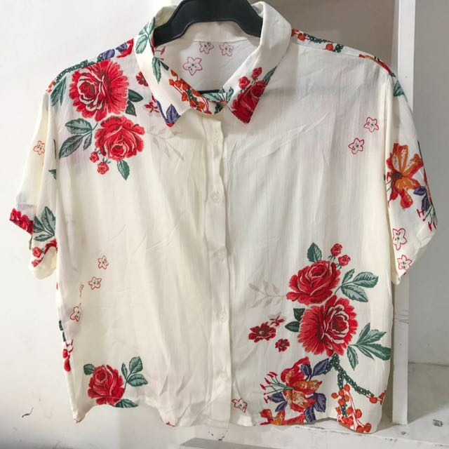 Classy Floral Polo (new)