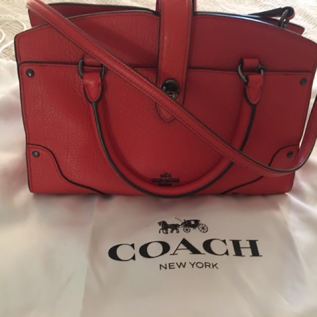 COACH mercer satchel like new