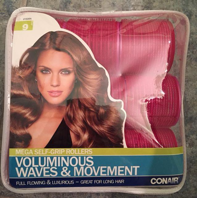 Conair voluminous hair rollers