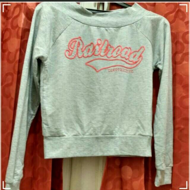 Crop top sweater sabrina