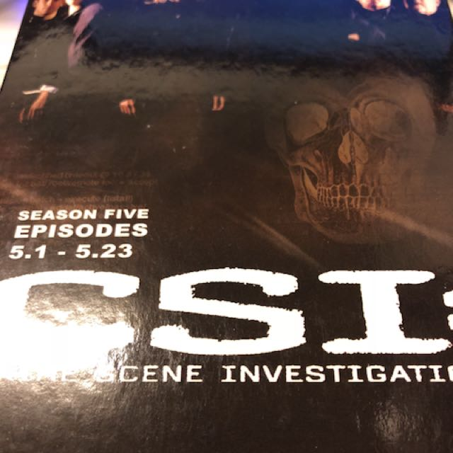 CSI : Crime Scene Investigation第五季 8DVD