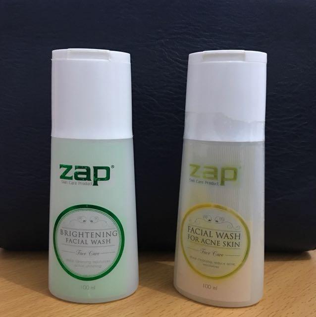 facial wash zap