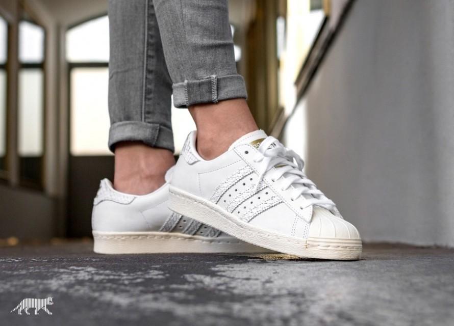 Adidas Superstar 80s W Light Grey \u0026