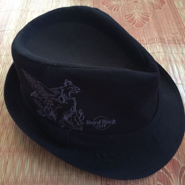 Fedora Hat by Hard Rock Cafe cba9089ff38