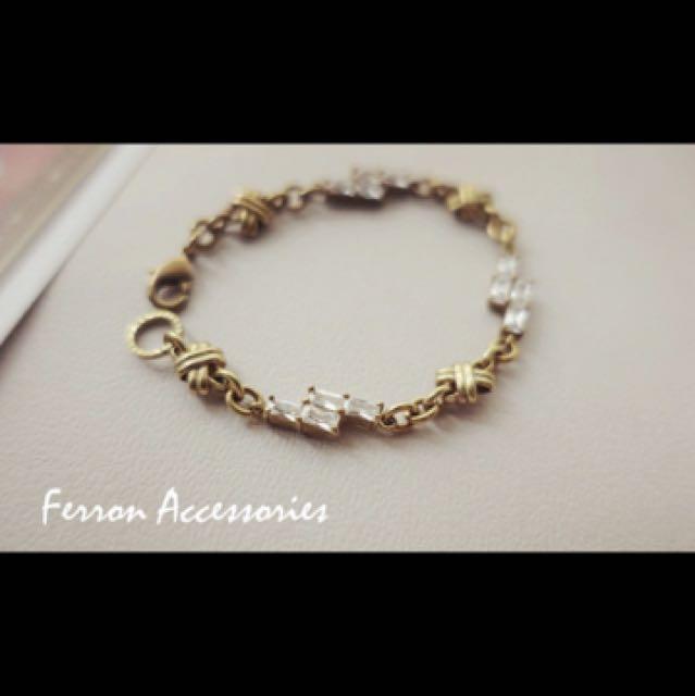 ferron accessories 復古手鍊 15cm