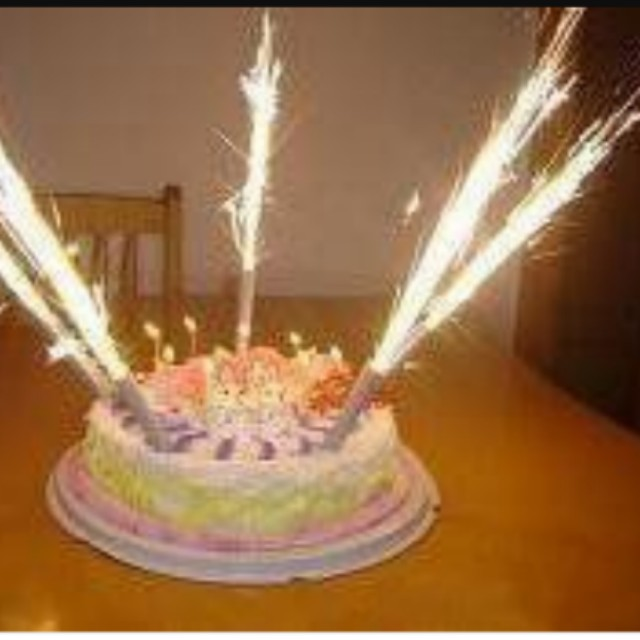 Fireworks Sparkles Birthday Candles Everything Else On Carousell