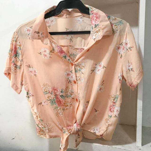 Floral Tie Polo (new)