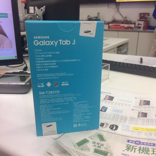 Galaxy Tab J 保留中
