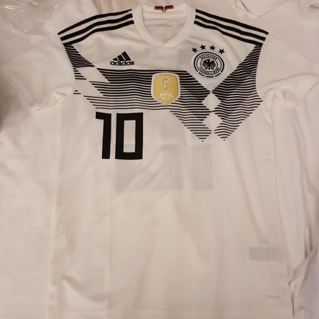 size 40 65837 be125 Germany World Cup 2018 Mesut Ozil Jersey, Sports, Sports ...