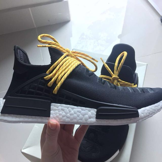 59246da345003 Great fake HU NMD BLACK  undetectable on feet!