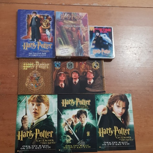 Harry Potter Movie Collectables Music Media Cds Dvds Other