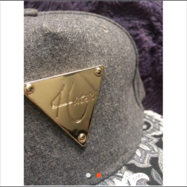 Hater 變形蟲圖騰棒球帽(近全新)