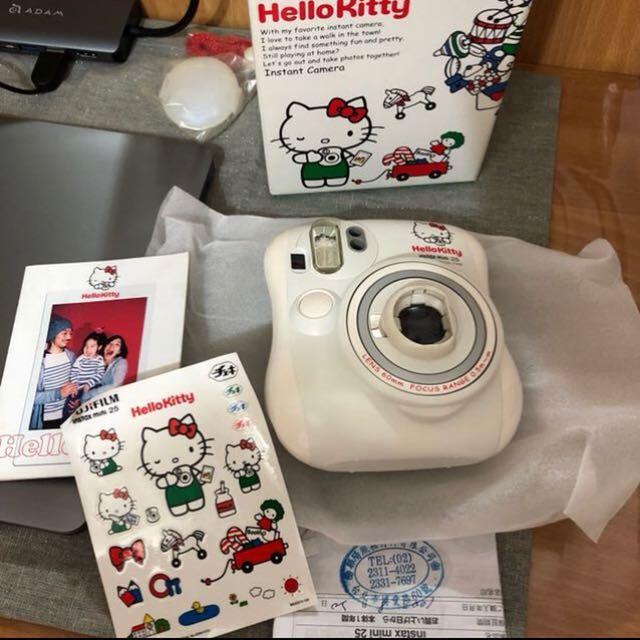 全新Hello Kitty 拍立得再送底片10張