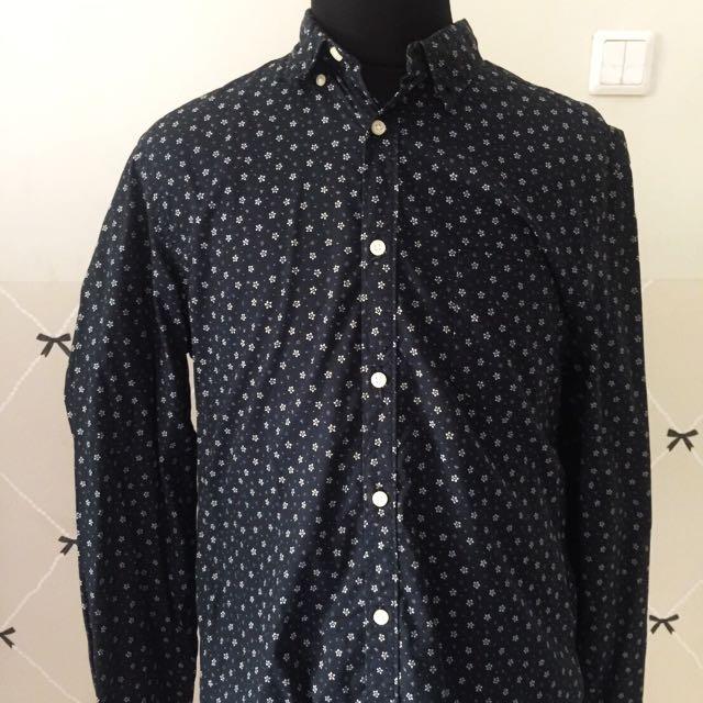 H&M Men's Shirt Pattern