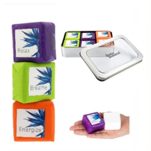 InstaNatural Bath Bombs Gift Set