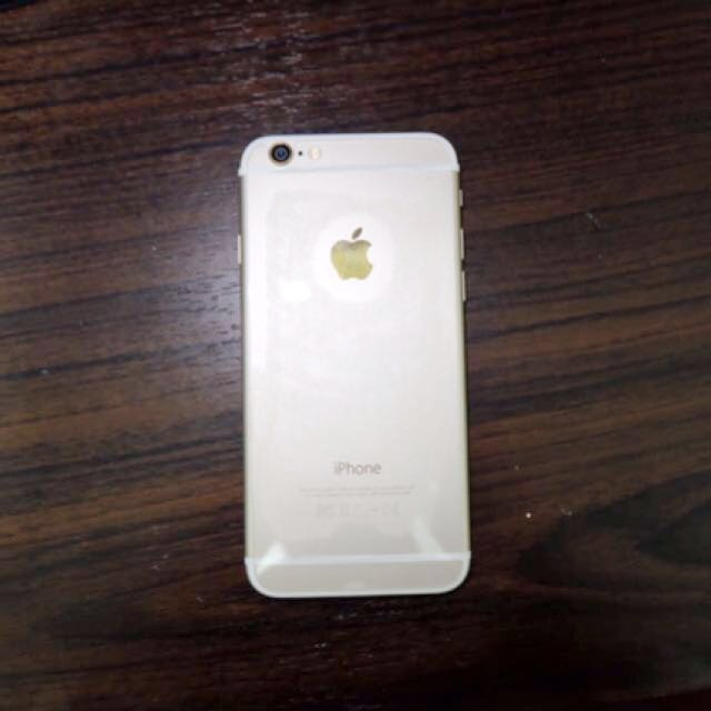 IPHONE 6 64GB GOLD MULUS 90% MURAH NEGO