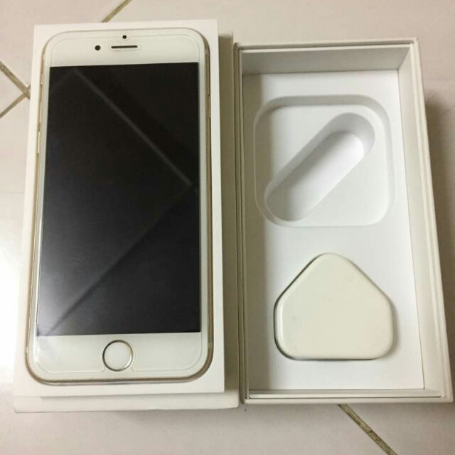 Iphone 6 Gold MySet Fullset TipTop