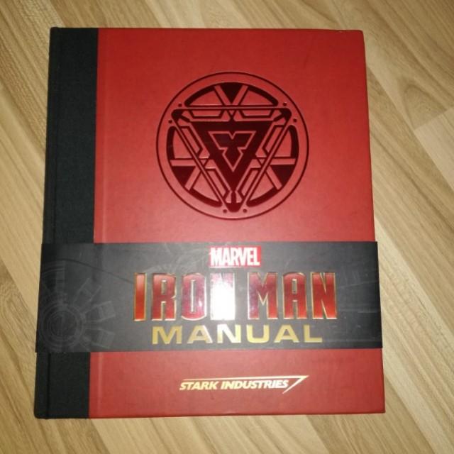 iron man manual book books stationery fiction on carousell rh sg carousell com iron man manual daniel wallace iron man manual daniel wallace