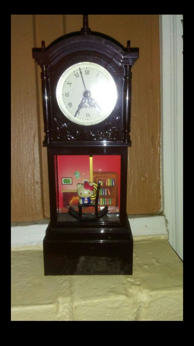 Japan's Hello Kitty first edition grandfather clock