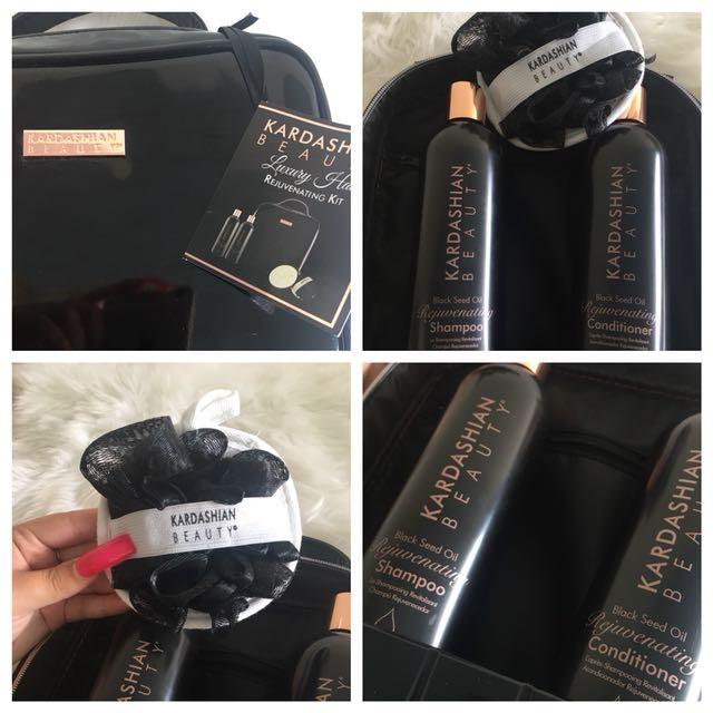 Kardashian Beauty Luxury Hair Rejuvenating Kit