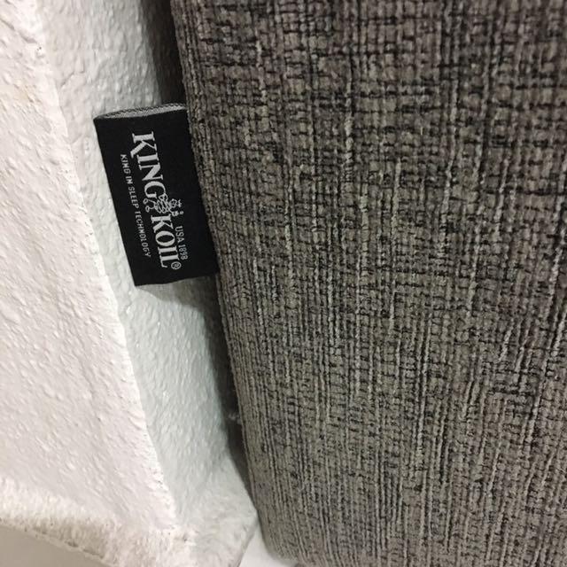 King Koil Designer Fabric Sofa
