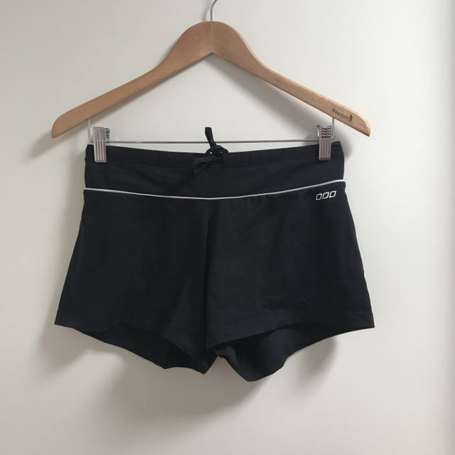 Lorna Jane black workout shorts