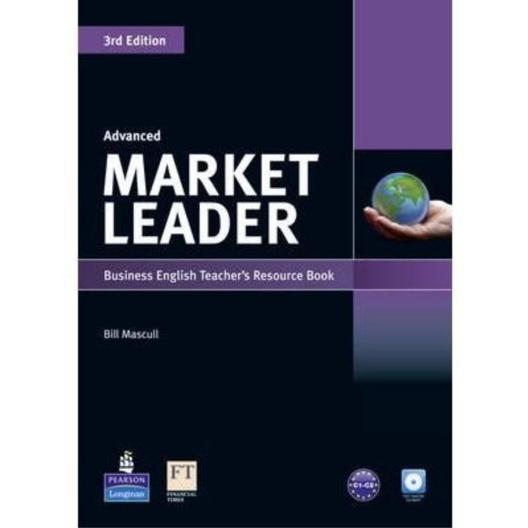 Market Leader 3rd Edition Advanced Coursebook & DVD-Rom Pack [含CD/筆記]  英文系/商學院用書 #舊愛換新歡 #好書新感動